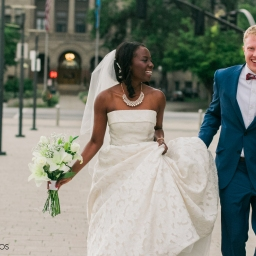 photography – mayowa + nick's dowtown slc wedding at the leonardo museum