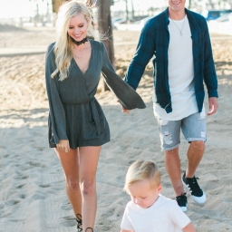 newport beach family shoot with the craig's