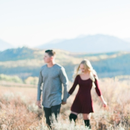 kylee + tallon's park city engagements