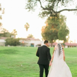 nancy + kyle's so. cal lakewood country club fall wedding