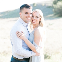 kristen + wes engagement shoot at Thomas f. Riley Park