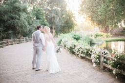 wedding of jenna + matthew / lake oak meadows / temecula ca