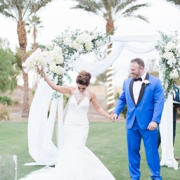 nye wedding / palm springs / Celia + kevin